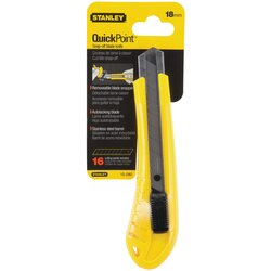 Stanley Tools - 18mm Standard SnapOff Knife - 10-280