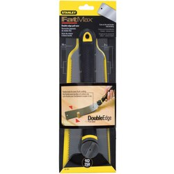 Stanley Tools - 10 in FATMAX Double Edge Pull Saw - 20-501