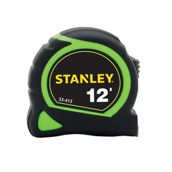 Stanley Tools - 12 ft HighVisibility Tape Measure - 33-413
