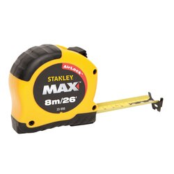 Stanley Tools - 8m26 ft Max Tape Measure - 33-956