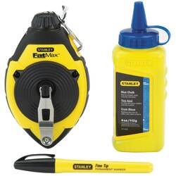 Stanley Tools - 100 ft FATMAX Chalk Line Reel Kit - 47-681