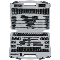 Stanley Tools - 99 pc Black Chrome Socket Set - 92-839