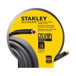 Stanley Tools - ACCUSCAPE PROSERIES 75 ft Comercial Grade Rubber Hose - BDS6615