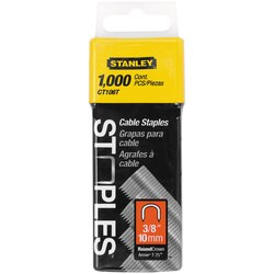 Stanley Tools - 1000 pc 38 in Cable Staples - CT106T