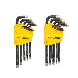 Stanley Tools - 22 Pc FATMAX Simulated Diamond Tip Hex Key Set - FMHT80763