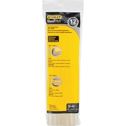 Stanley Tools - 12 pk 716 in x 10 in Dual Temp Glue Sticks - GS25DT
