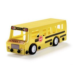 Stanley Tools - STANLEY Jr Wooden DIY Kit  School Bus - OK015-SY