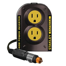 Stanley Tools - 140 Watt Power Inverter with AC and USB chargers - PCI140