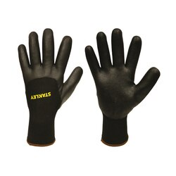 Stanley Tools - TwoPly Thermal NitrileCoated Machine Knit Gloves - S68992