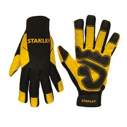 Stanley Tools - Synthetic Leather Comfort Grip Gloves - S77614