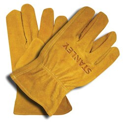 Stanley Tools - Split Cowhide Driver Gloves with Keystone Thumb - S78111