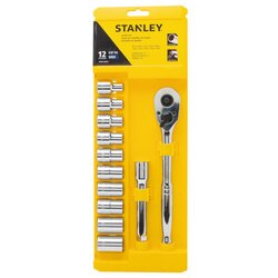 Stanley Tools - 12 pc 12 Metric Mechanics Tool Set - STMT74874
