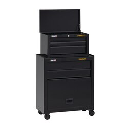 Stanley Tools - 100 Series 26 in W 5Drawer Tool Chest  Cabinet - STST22656BK