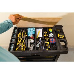 Stanley Tools - 100 Series 31 in W 5Drawer Mobile Workbench - STST23151BK