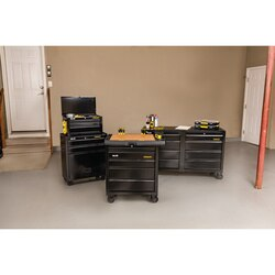 Stanley Tools - 100 Series 53 in W 8Drawer Mobile Workbench - STST25381BK