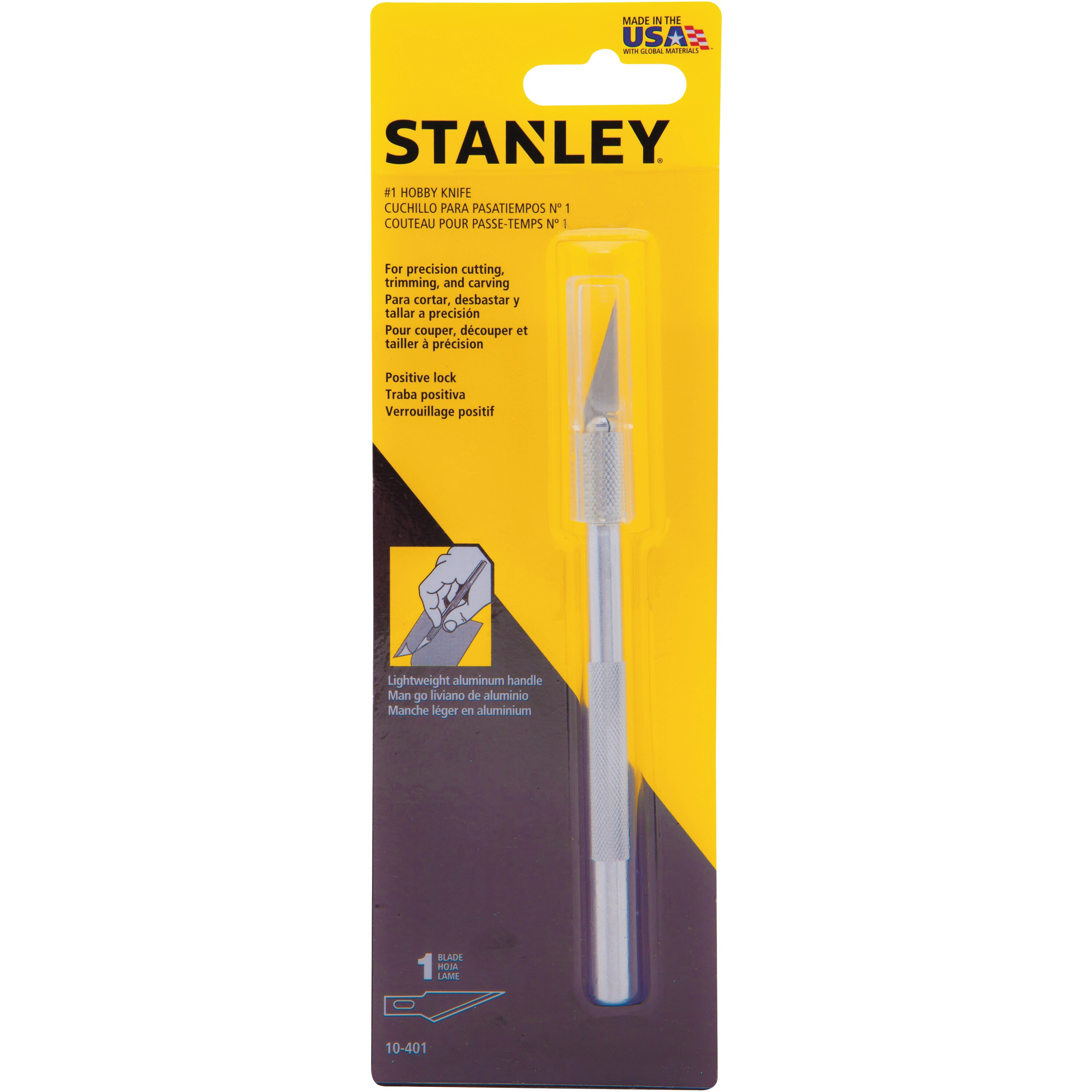 Stanley Tools - 5 in Hobby Knife - 10-401