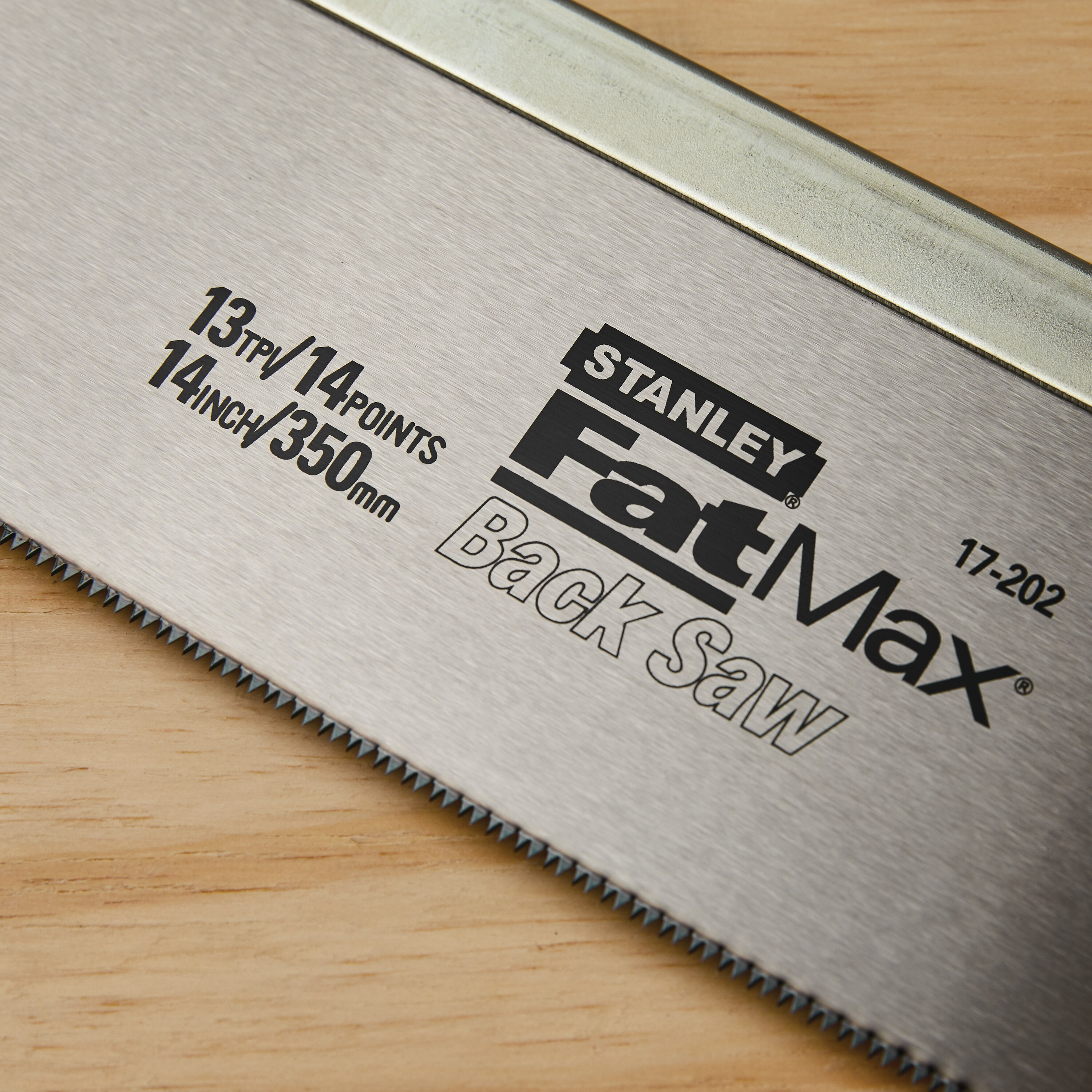 Stanley Tools - 14 in FATMAX Back Saw - 17-202