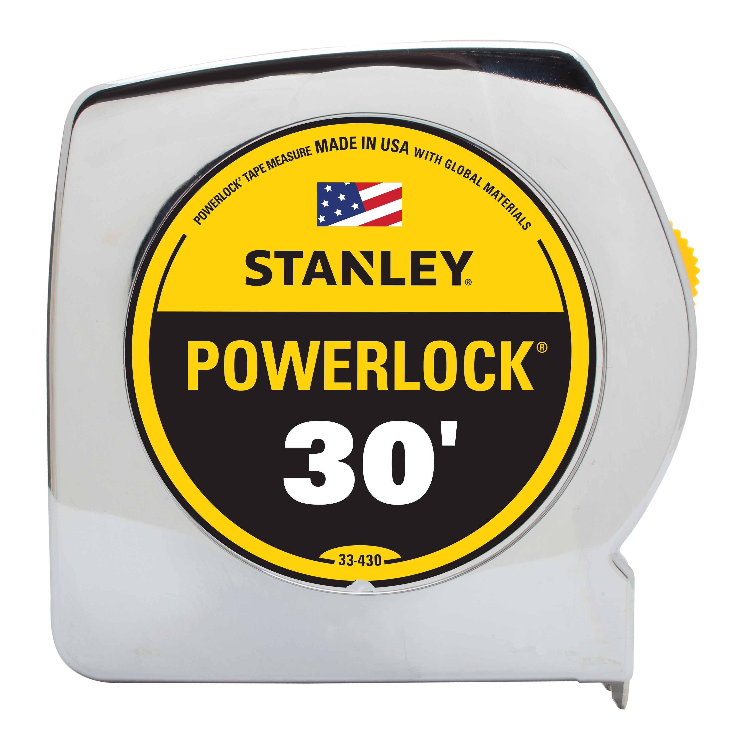 Stanley Tools - 30 ftPowerLock Tape Measure with BladeArmor - 33-430
