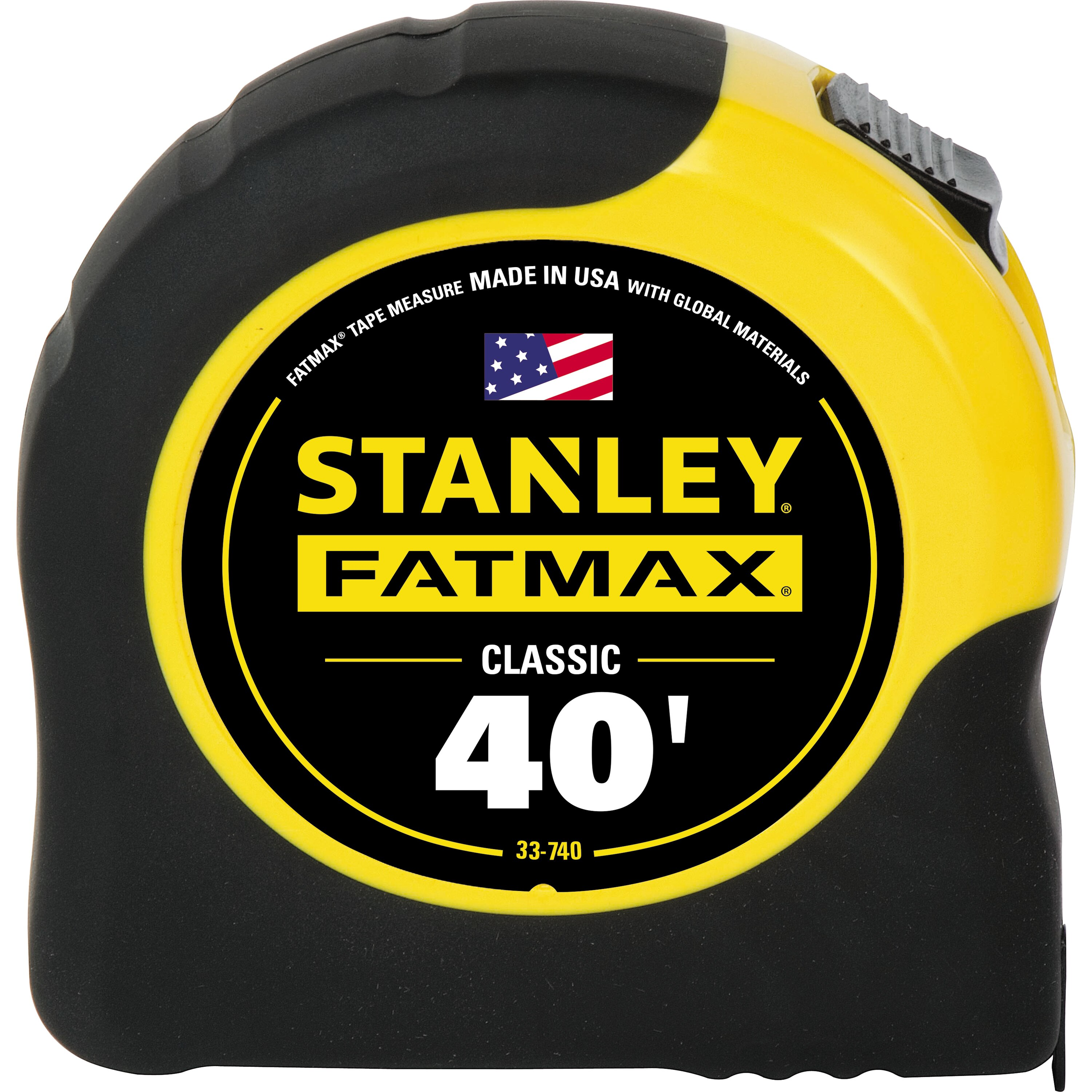 Stanley Tools - 40 ft FATMAX Classic Tape Measure - 33-740