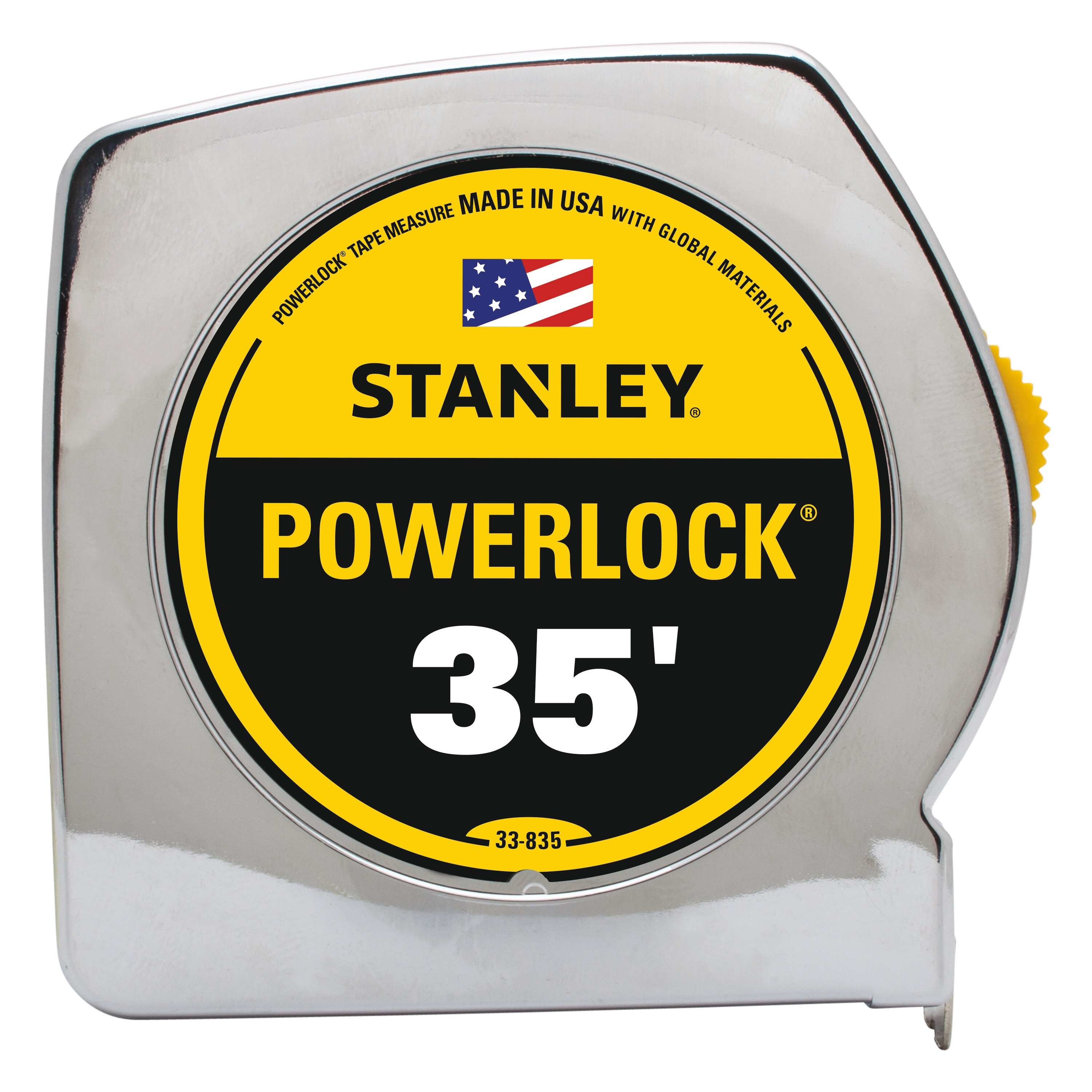 Stanley Tools - 35 ft PowerLock Classic Tape Measure - 33-835