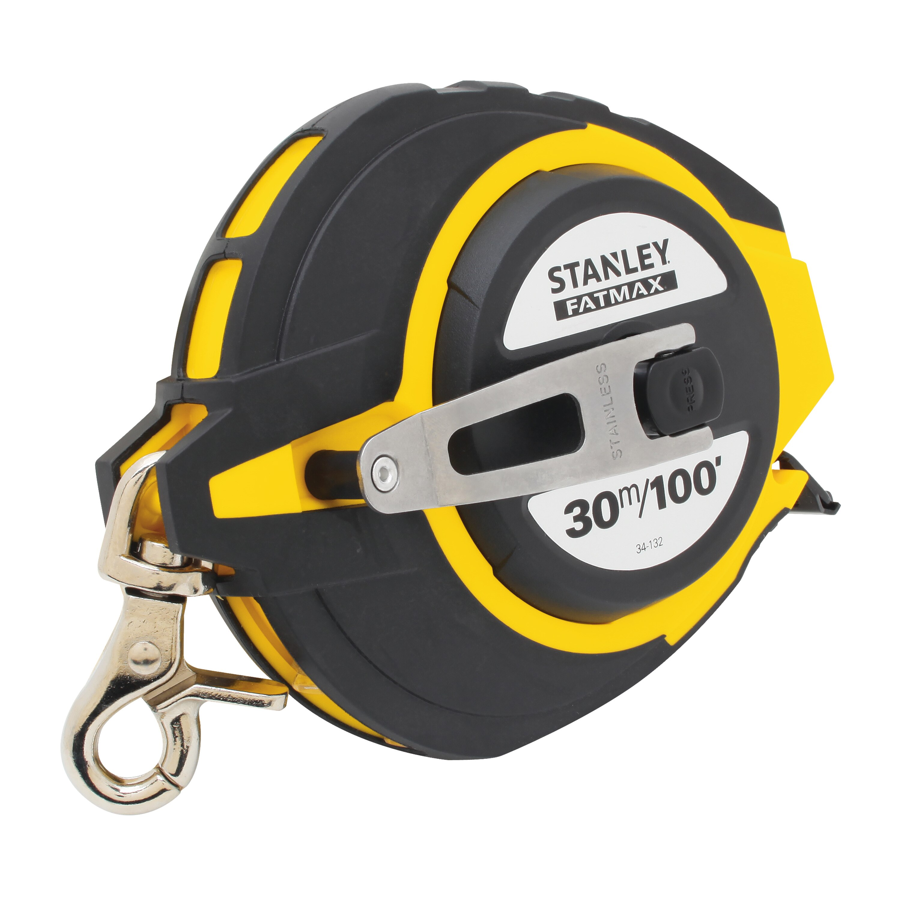 Stanley Tools - 30m100 ft FATMAX Steel Long Tape - 34-132