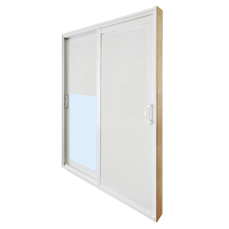 Double Sliding Patio Door With Internal