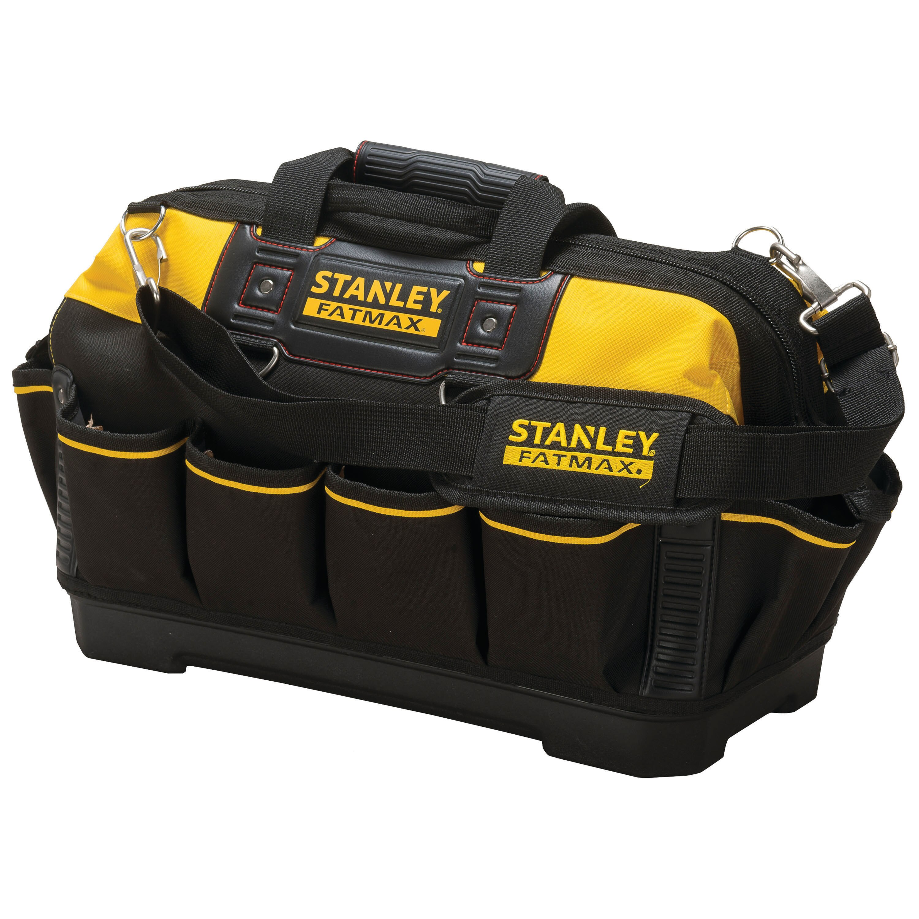 Stanley Tools - 18 in FATMAX FabricPlastic Open Mouth Tool Bag - 518150M