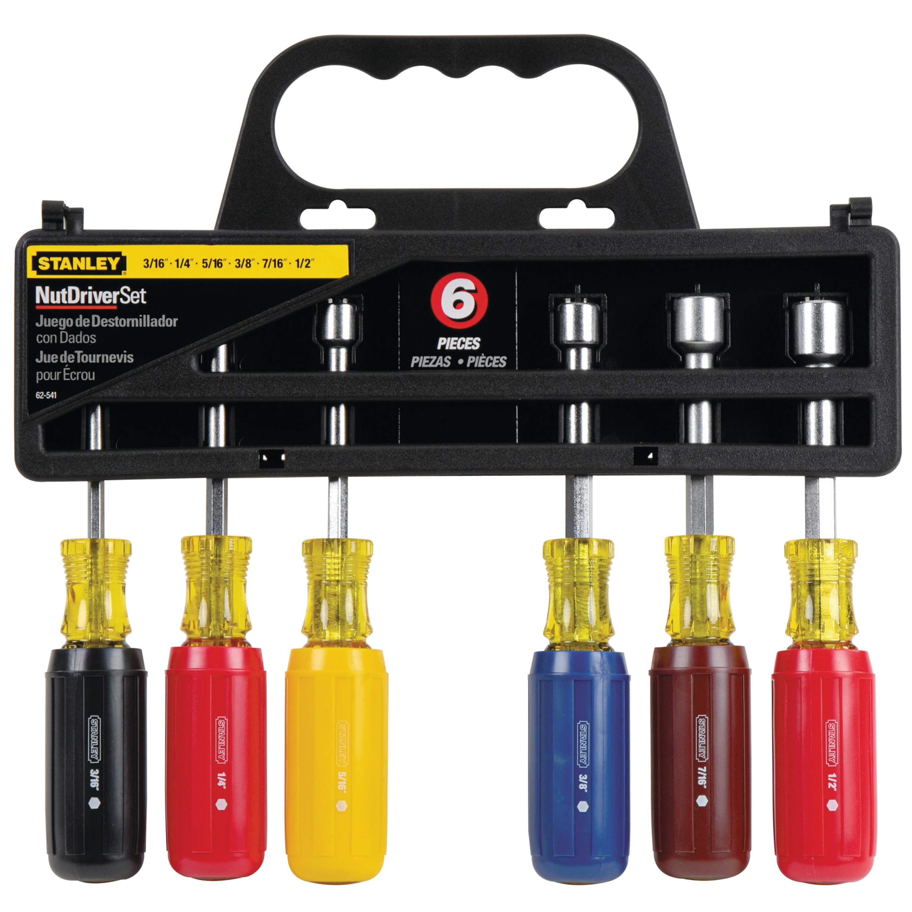 Stanley Tools - 6 pc Nut Driver Set - 62-541
