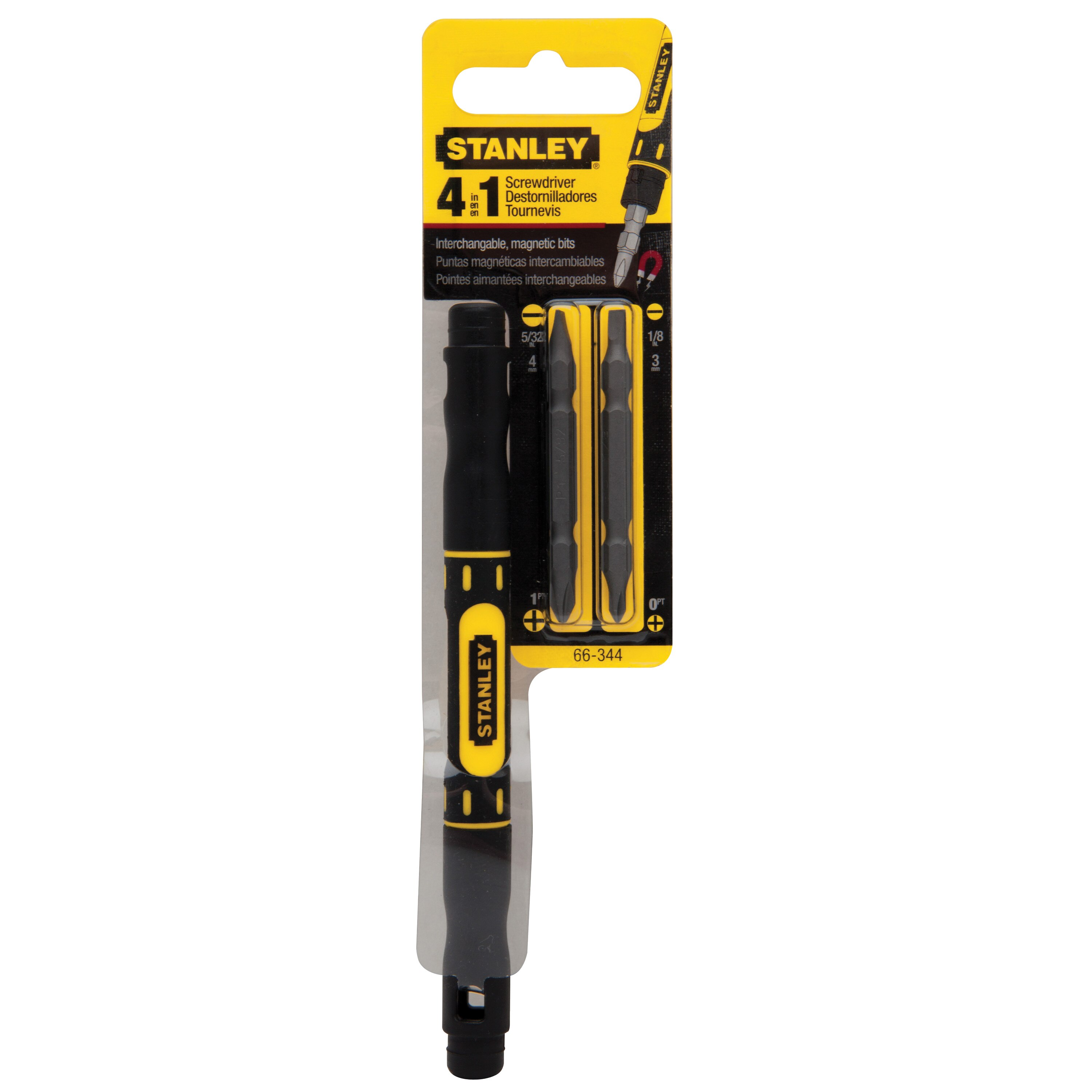 Stanley Tools - 4in1 BiMaterial Pocket Driver - 66-344
