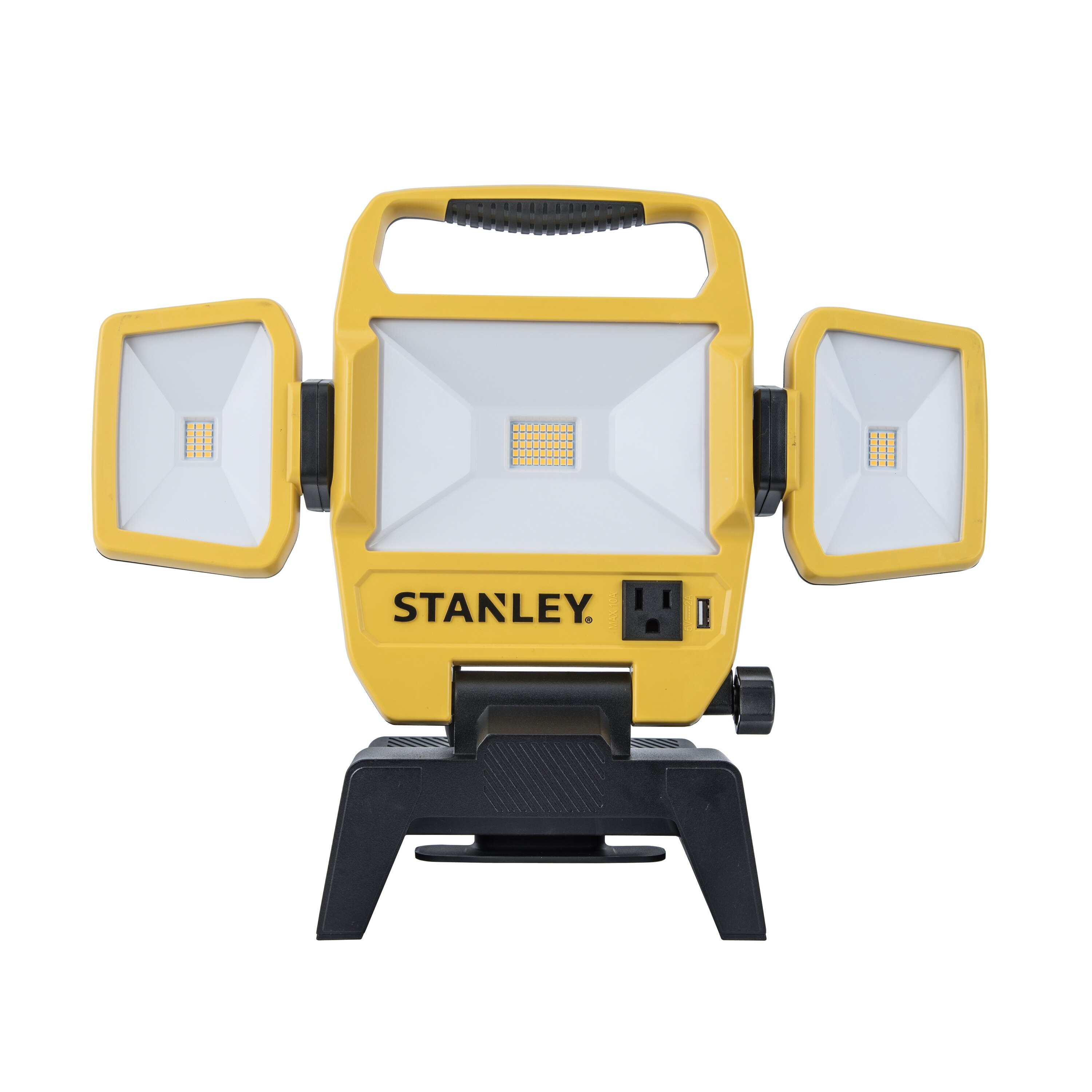 Stanley Tools - 5000 Lumens LED Corded Portable Work Light - 7629103430