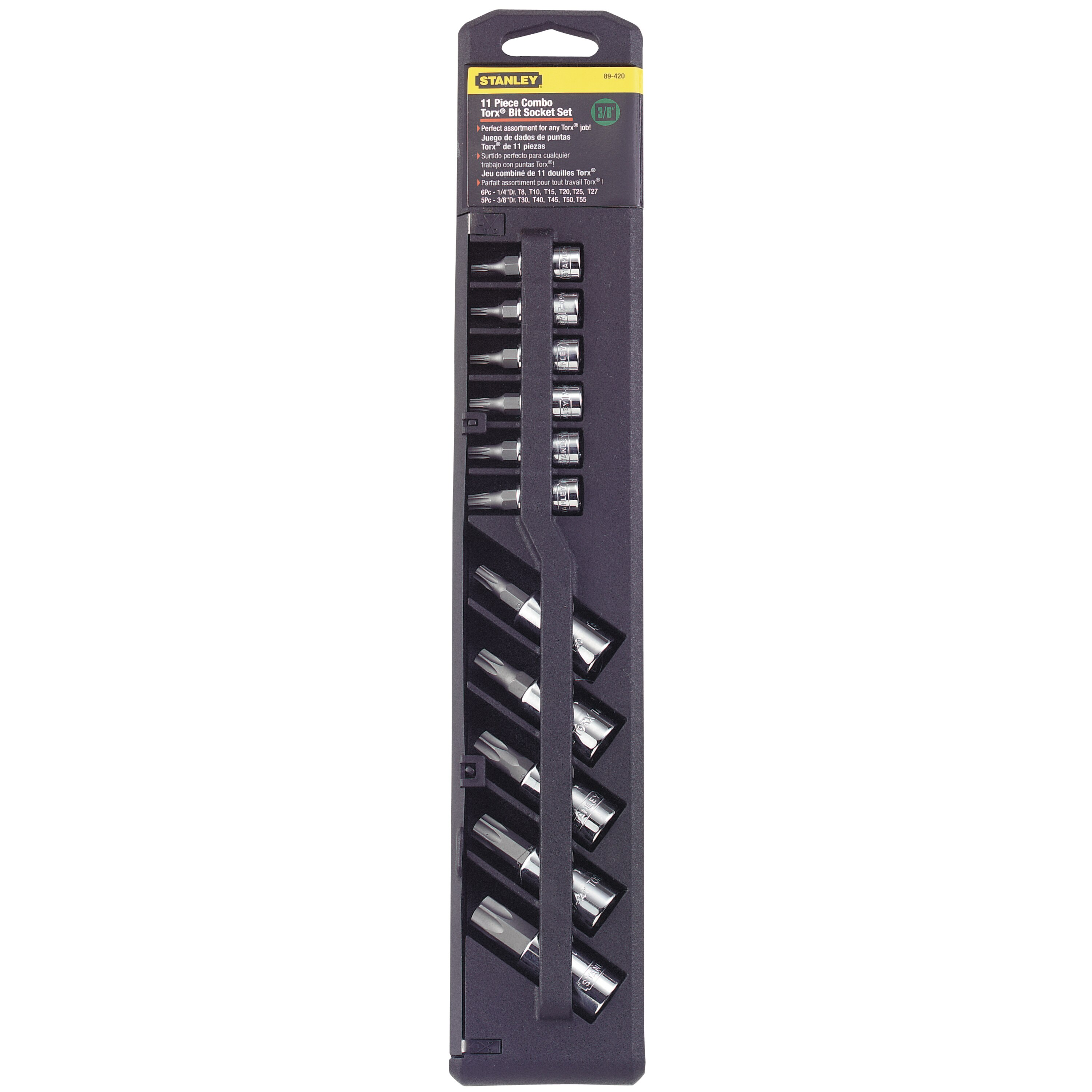 Stanley Tools - 11 pc Torx Bit Socket Set - 89-420
