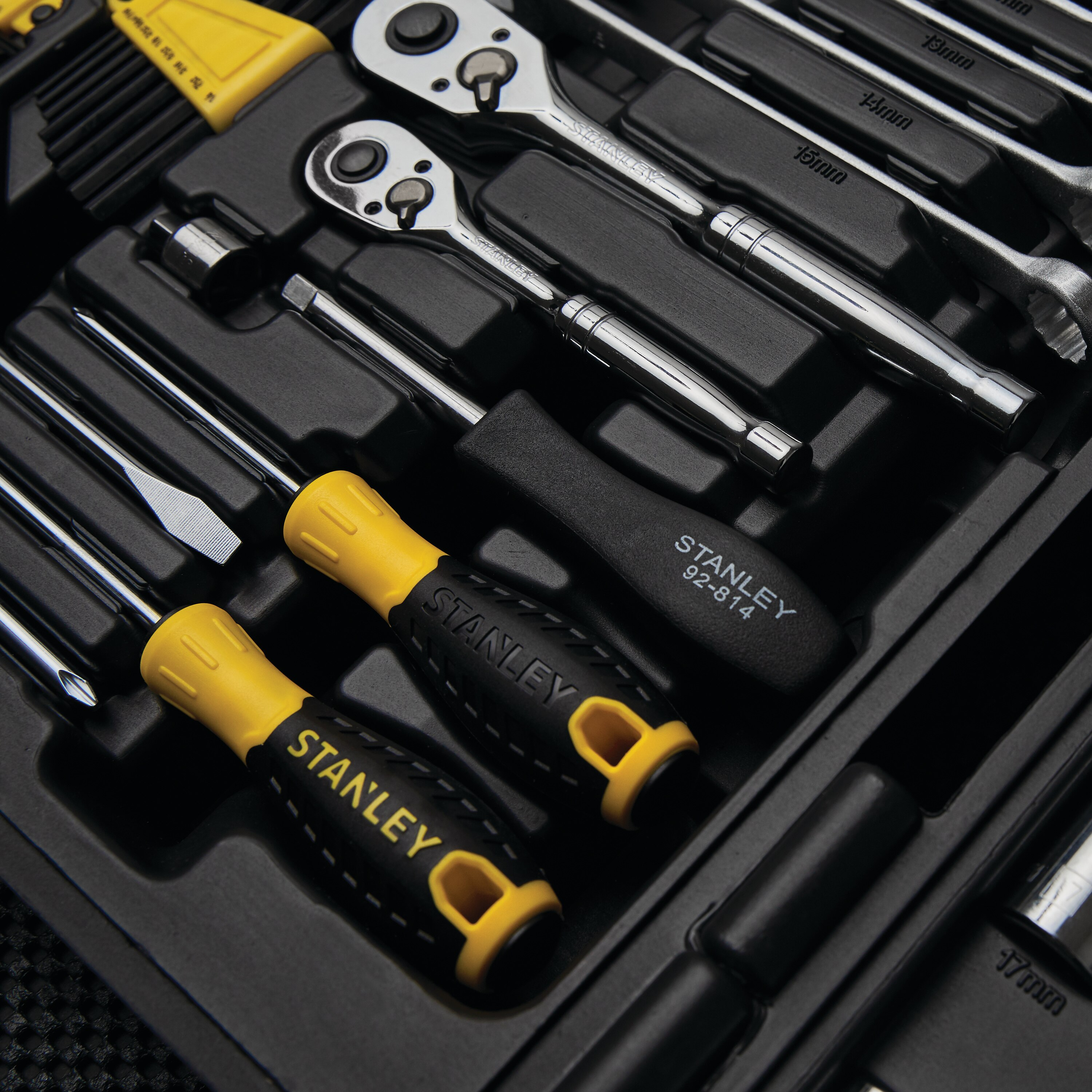 Stanley Tools - 150 pc Mechanics Tool Set - 97-543