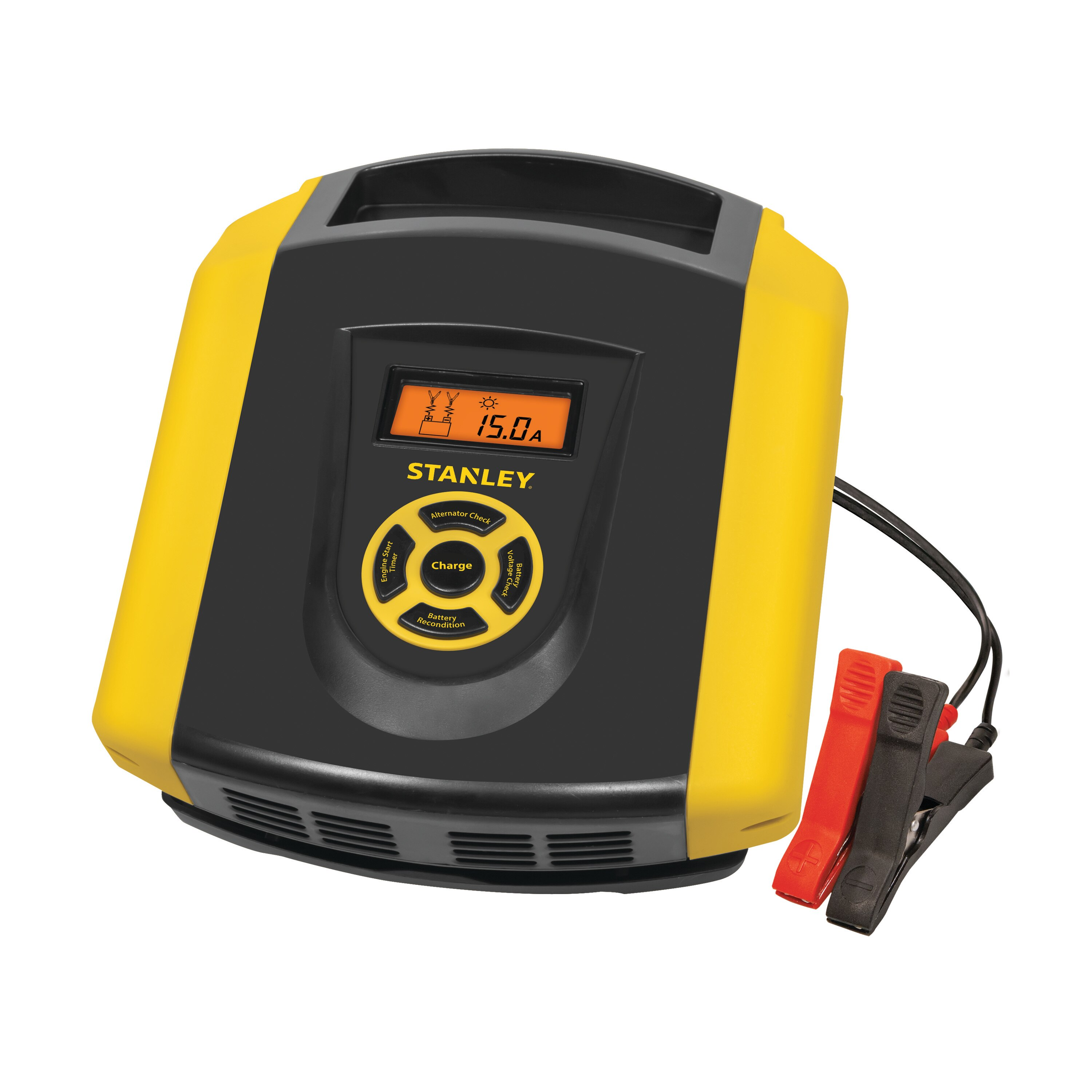 Stanley Tools - 15 Amp Battery Charger with Quick Start Timer - BC1509