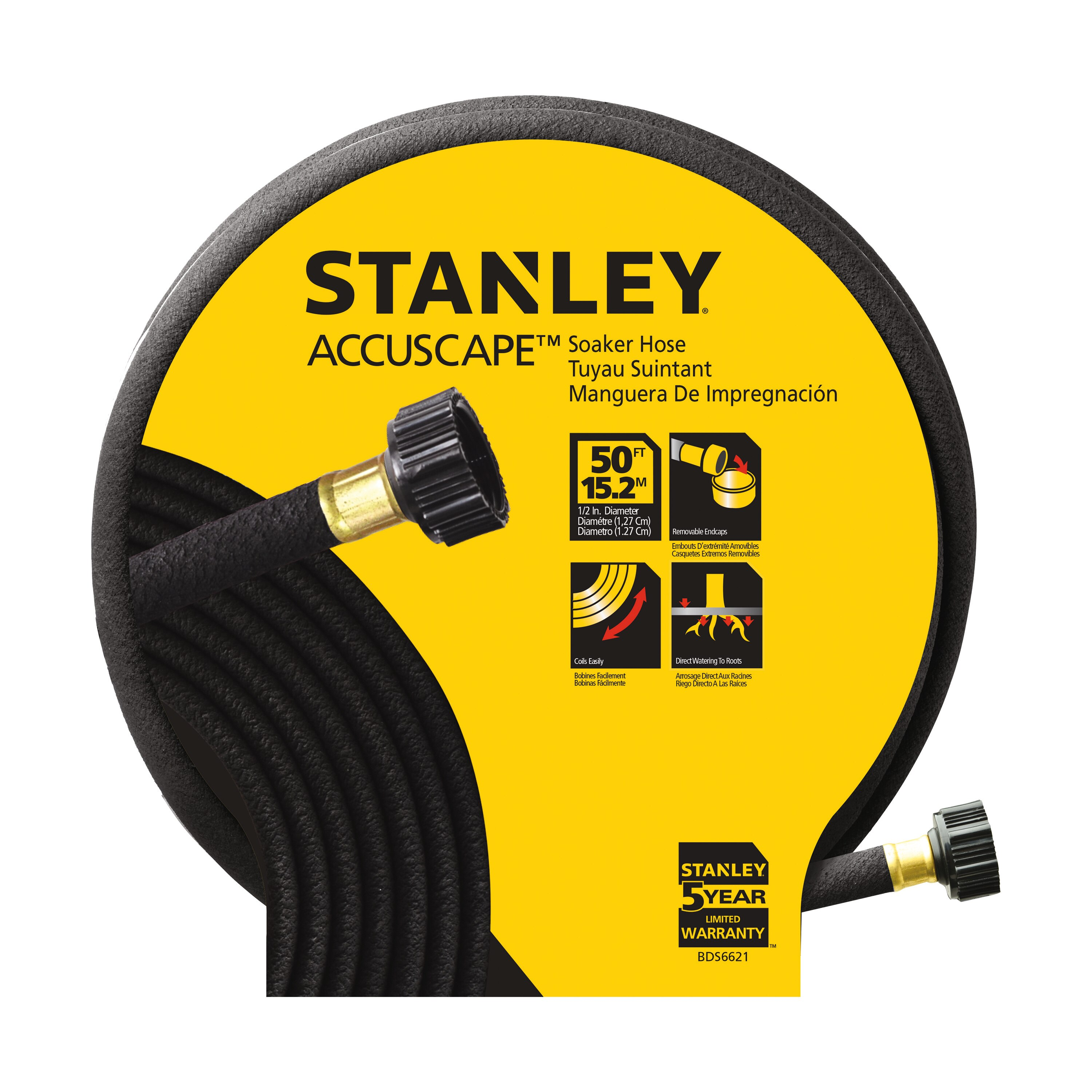Stanley Tools - ACCUSCAPE PROSERIES 50 ft Soaker Hose - BDS6621