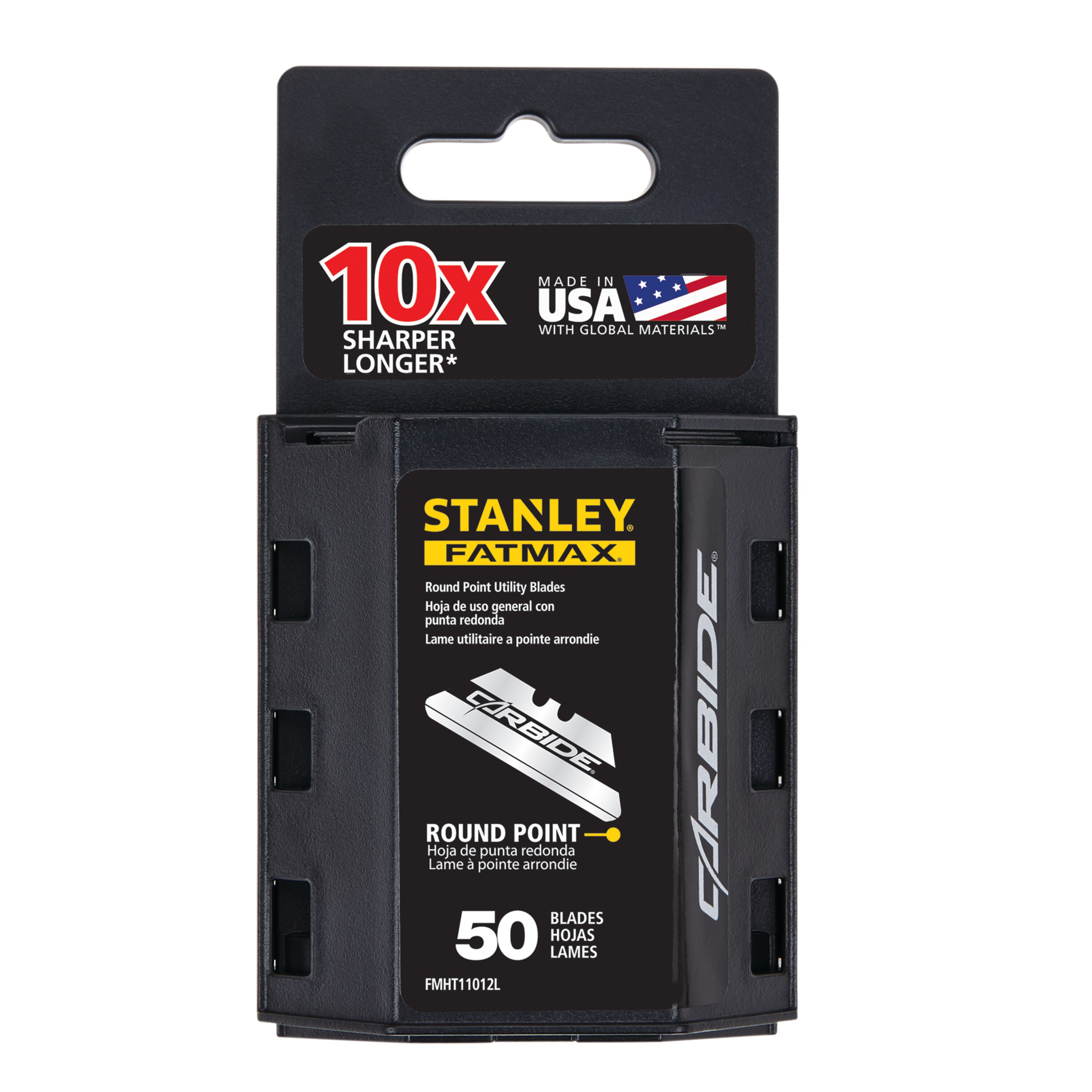 Stanley Tools - Carbide RoundPoint Utility Blades - FMHT11012L