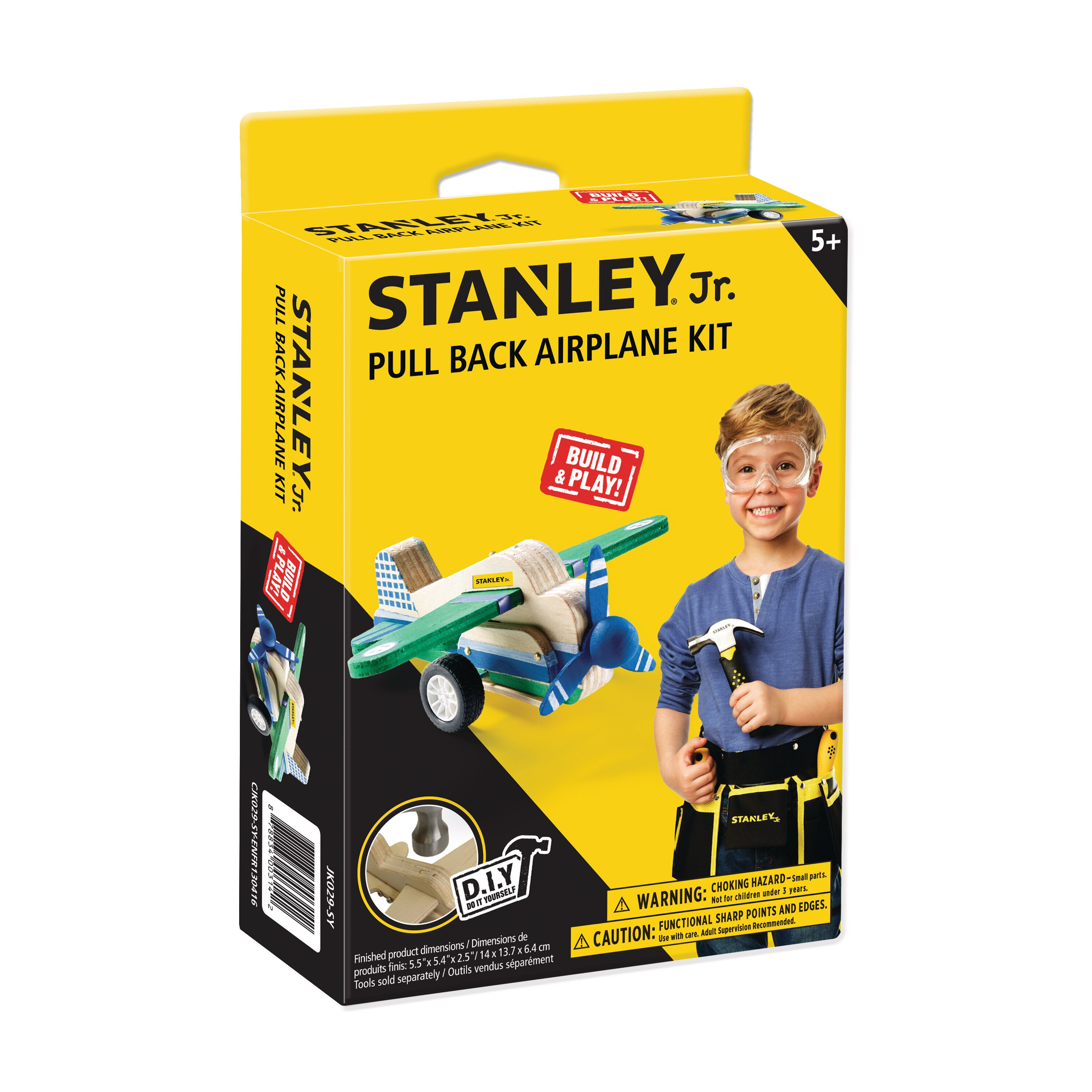 Stanley Tools - PullBack Airplane - JK029-SY