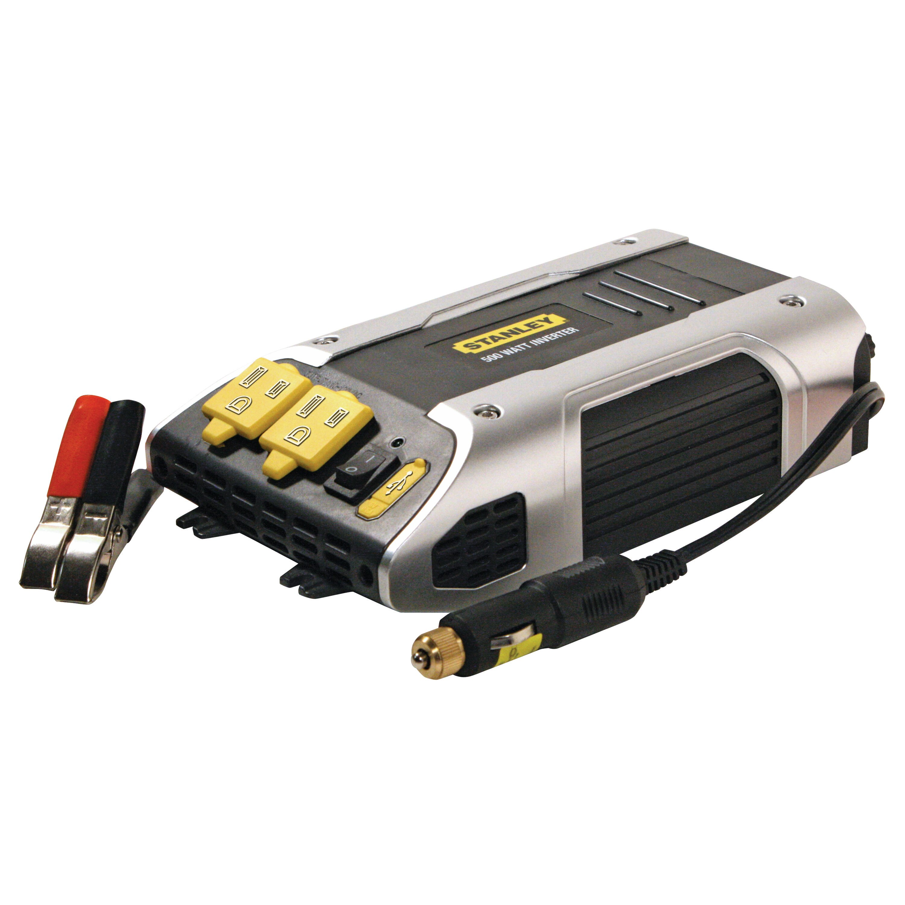 Stanley Tools - 500 Watt Power Inverter with DC Plug - PC509