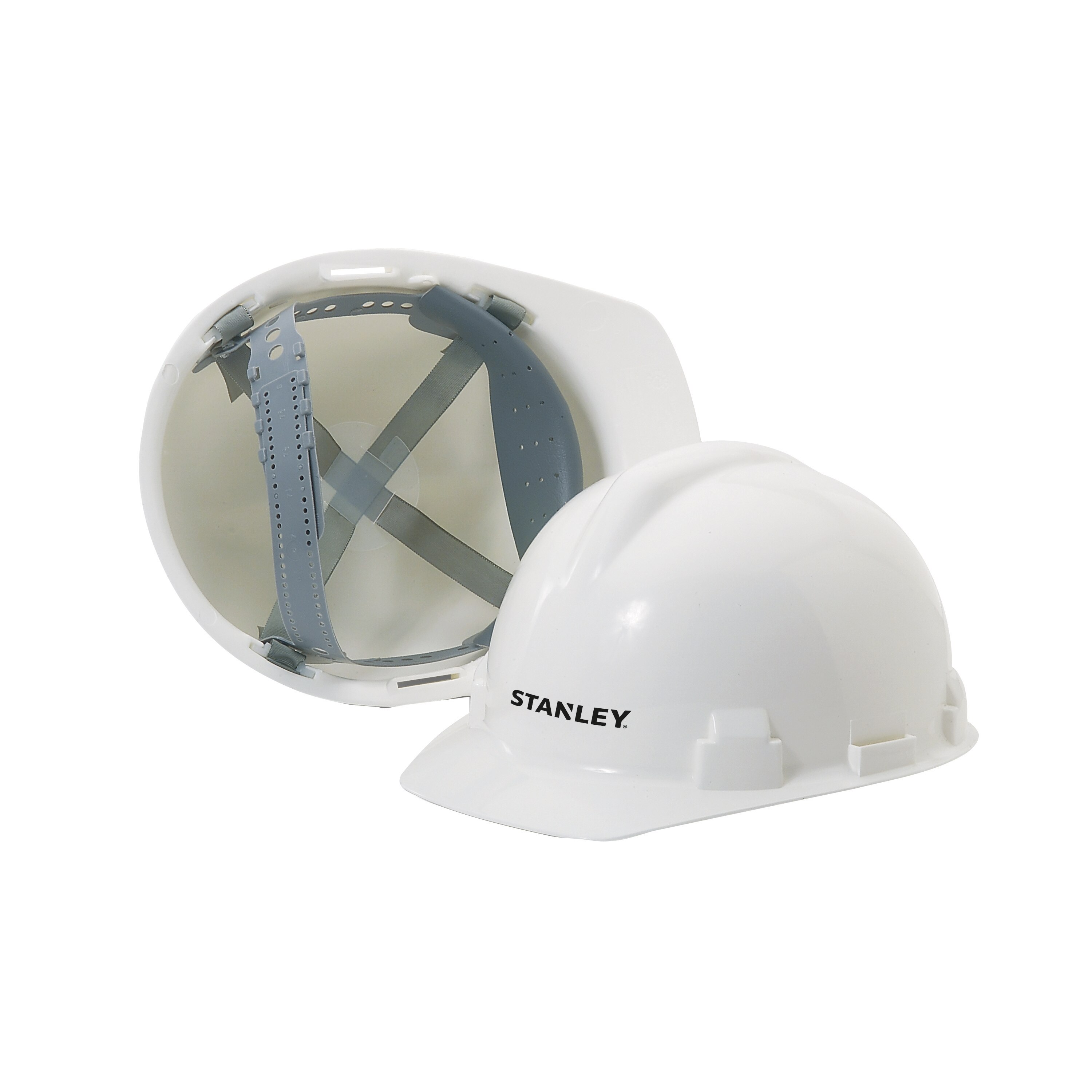 Stanley Tools - Preslock Suspension White Hard Hat - RST-62002