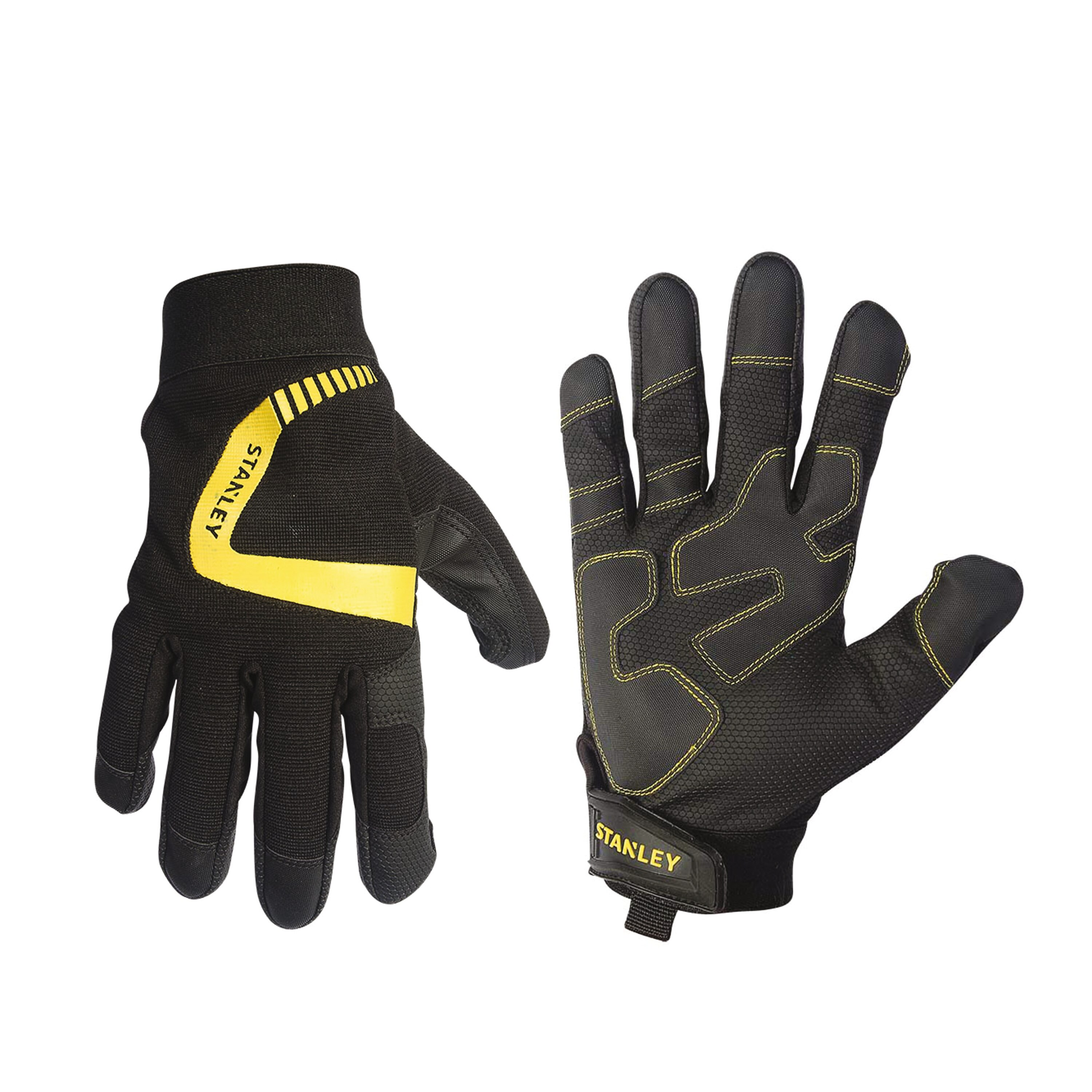Stanley Tools - Performance Gripper Gloves Digital Polyurethane Palm with Reinforcements - S77621