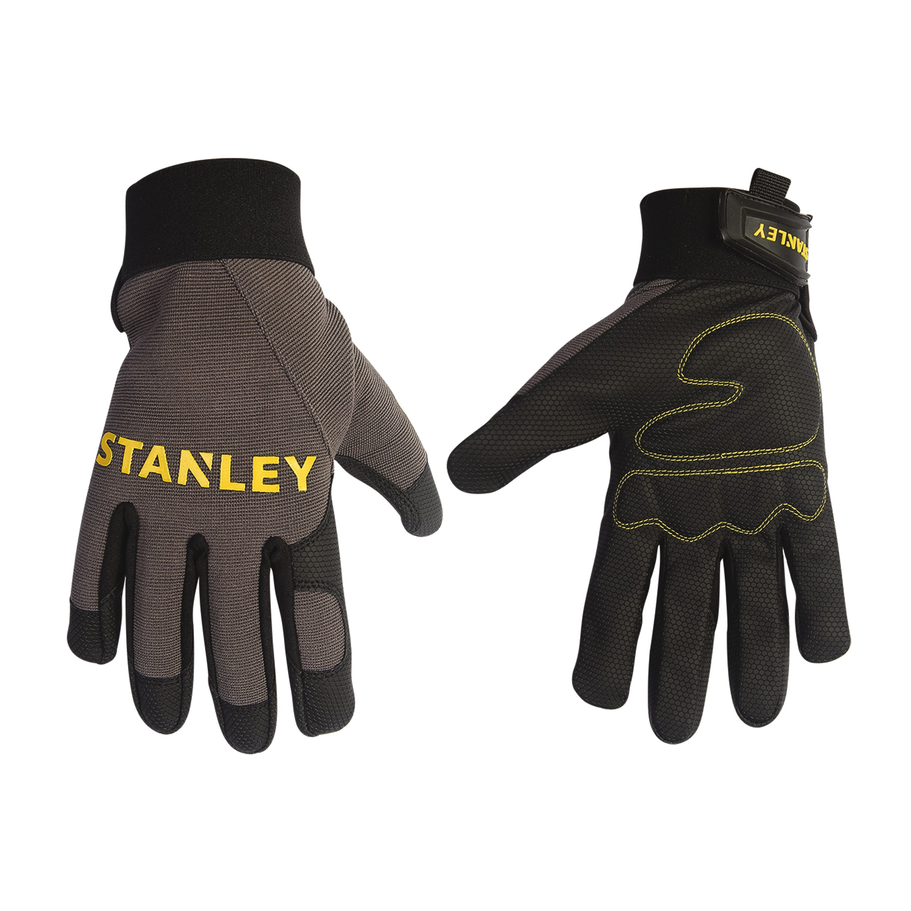 Stanley Tools - Padded Comfort Grip Digital Polyurethane Palm with Foam Padding - S77641