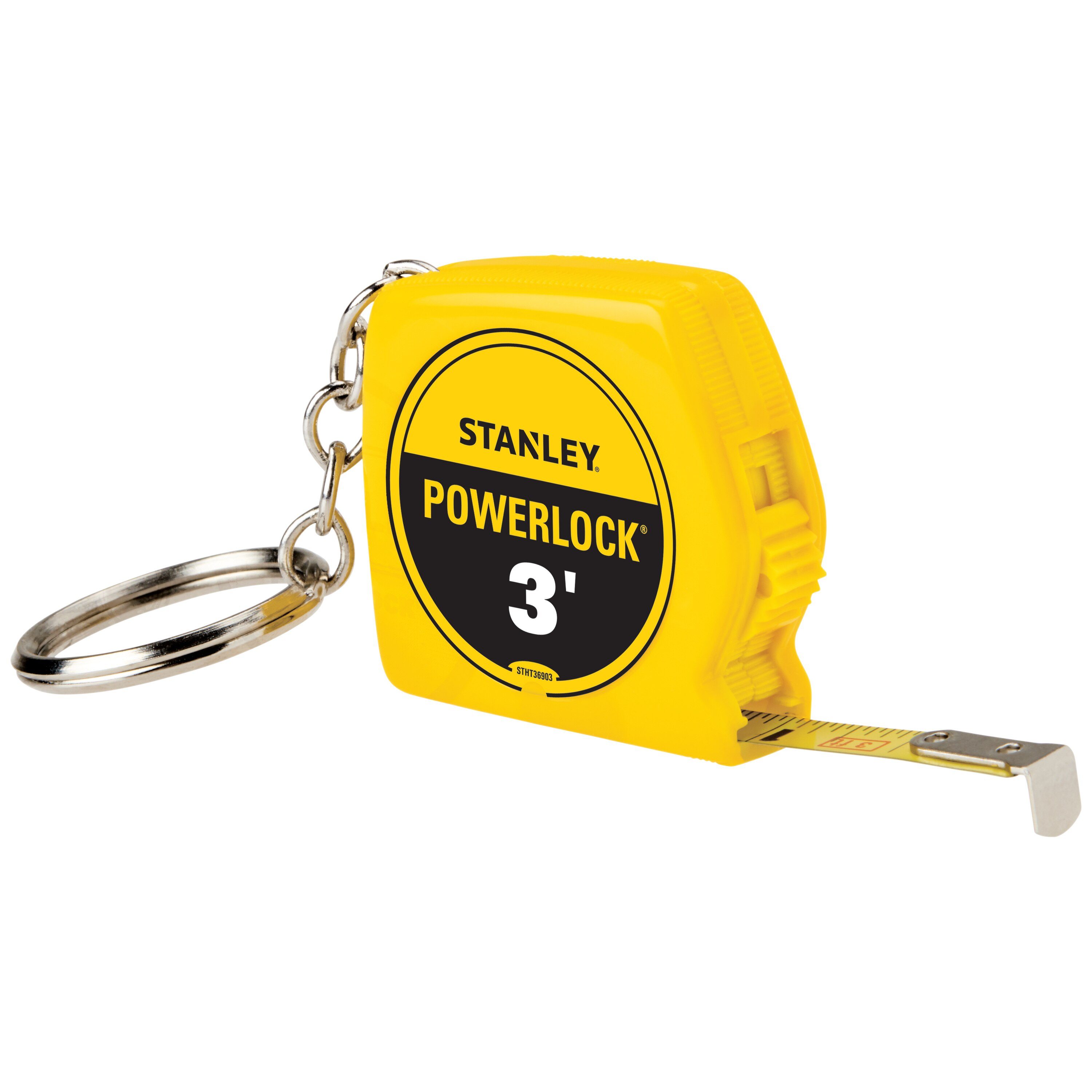Stanley Tools - PowerLock 3 ft Keychain Tape Measure - STHT36903