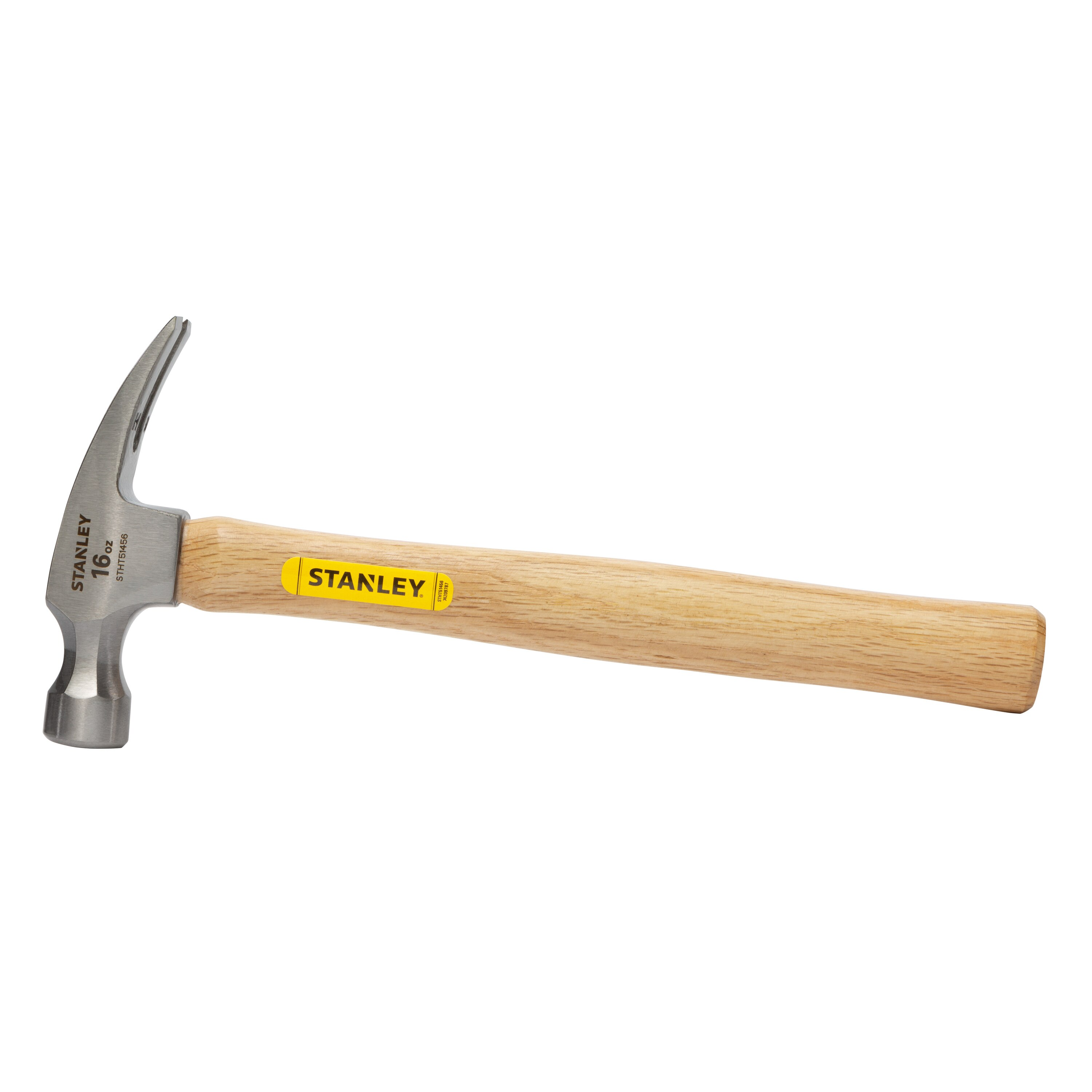 Stanley Tools - 16 OZ RIP CLAW WOOD HANDLE HAMMER - STHT51456