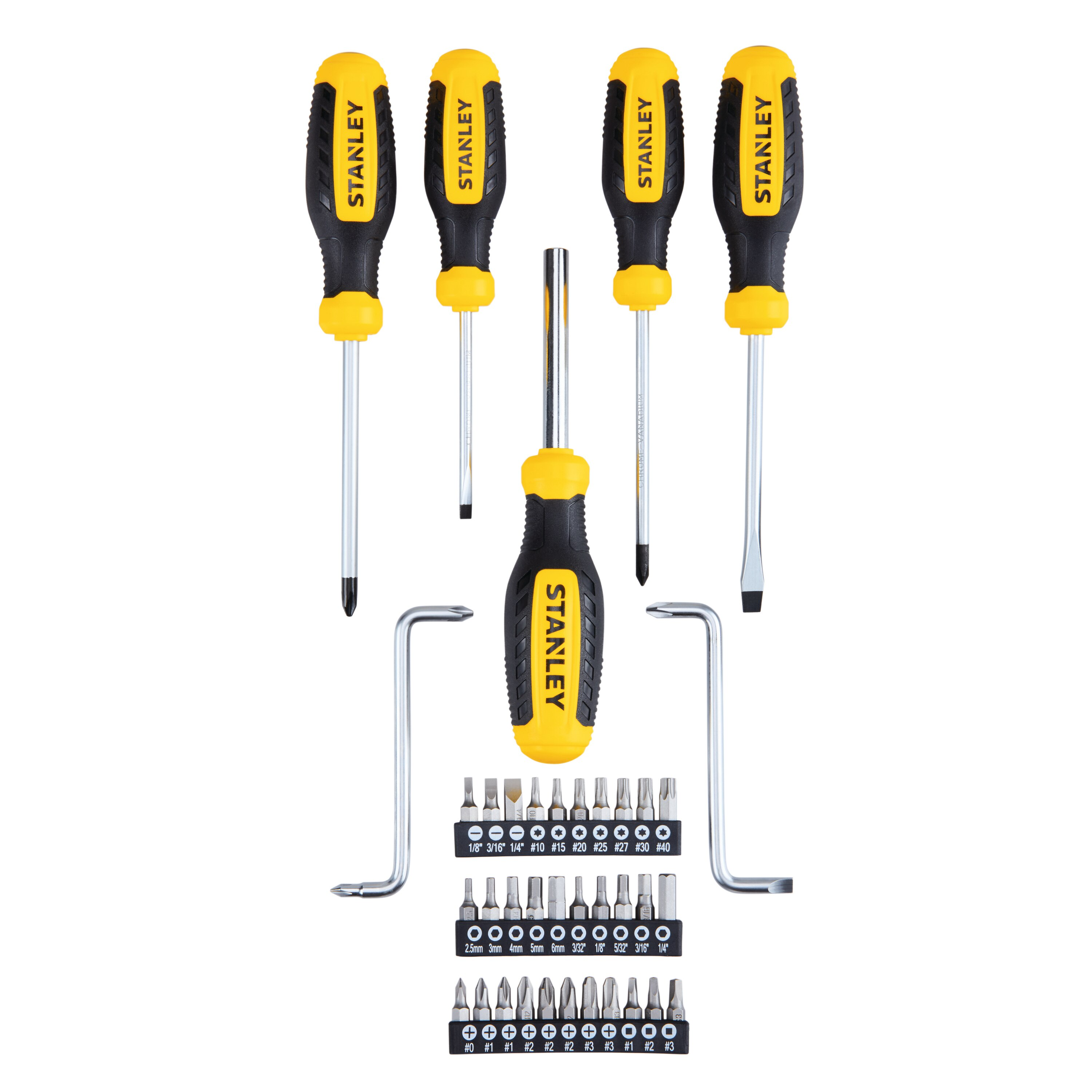 Stanley Tools - 38 pc Screwdriver Set - STHT60125