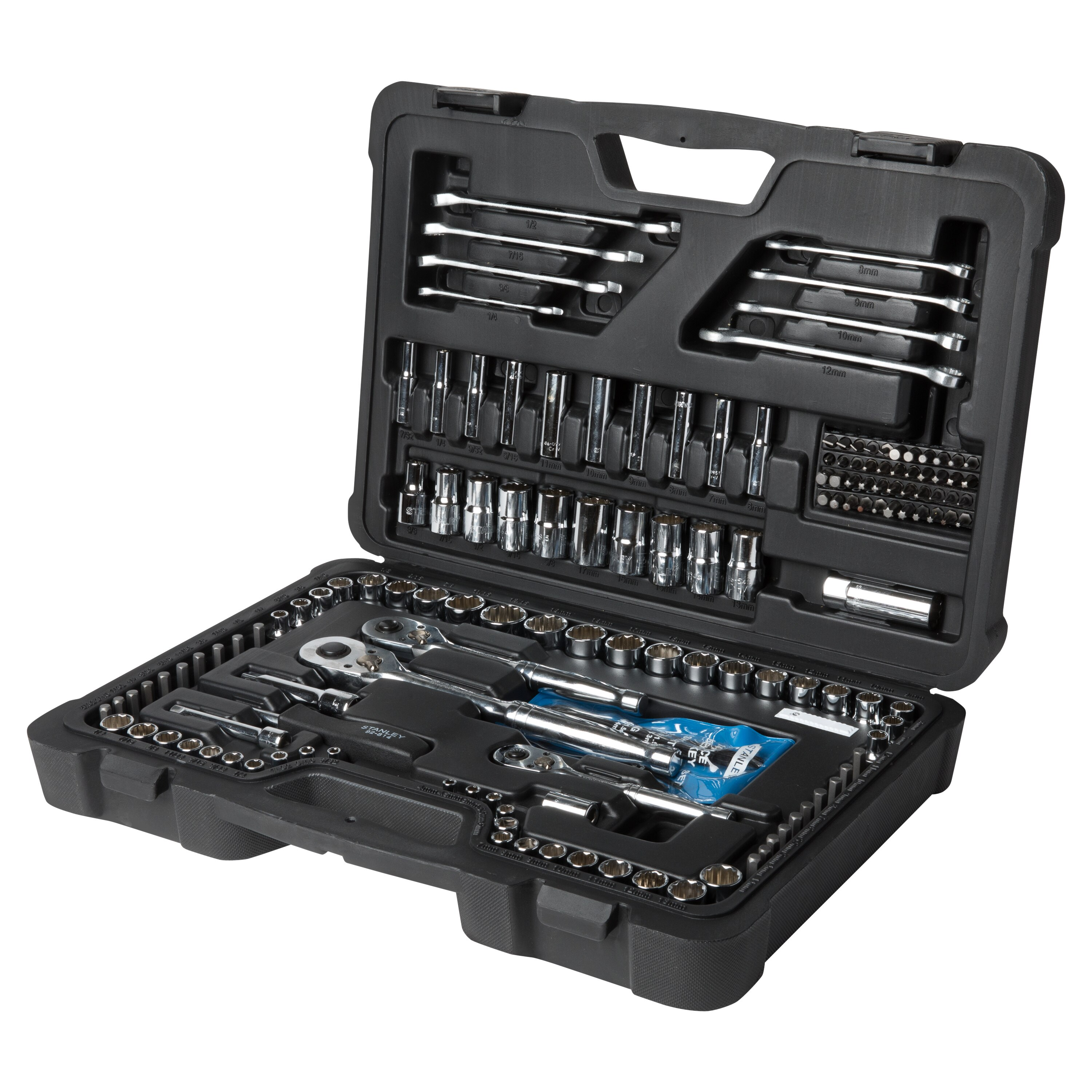 Stanley Tools - 173 pc Mechanics Tool Set - STMT74857
