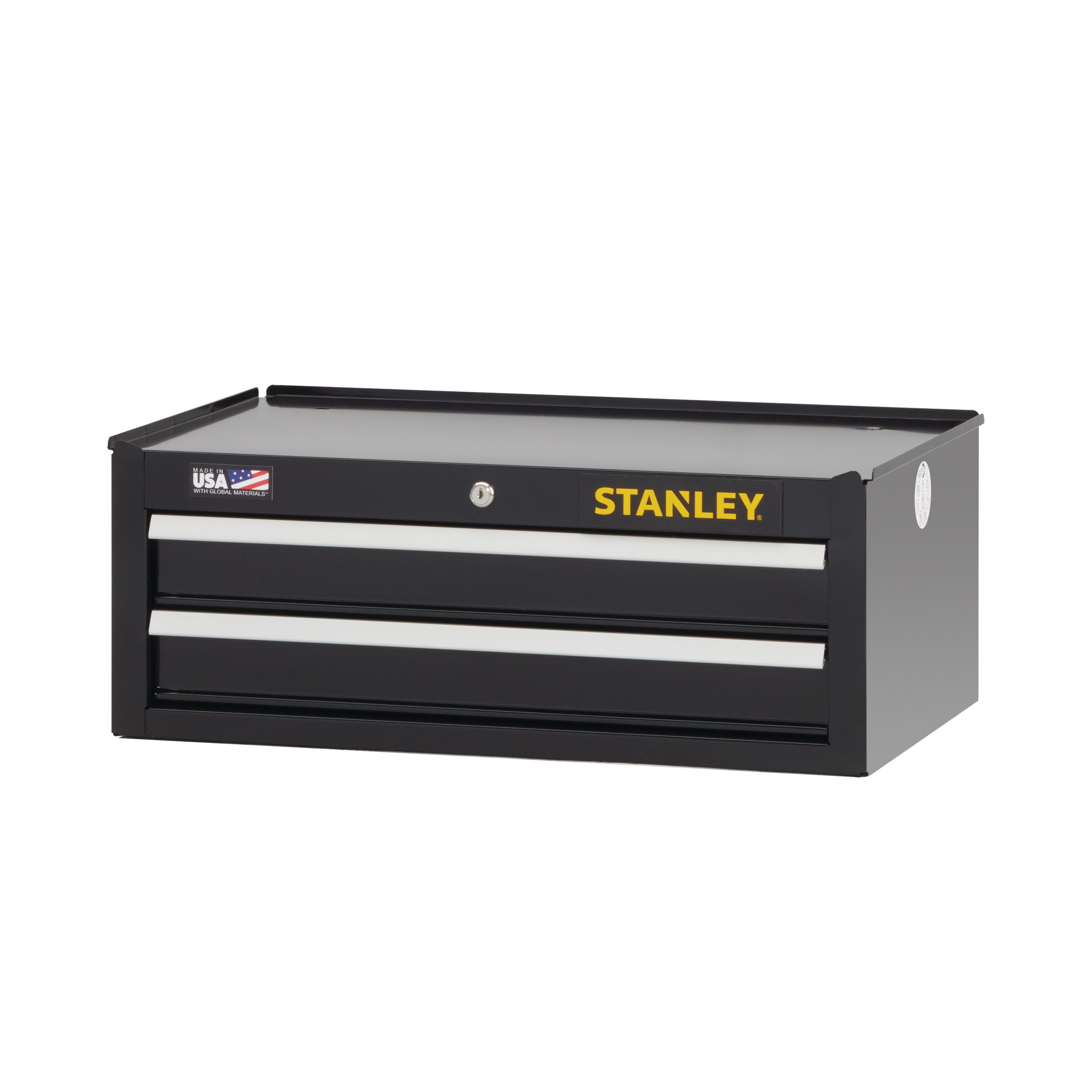 Stanley Tools - 300 Series 26 in W 2Drawer Middle Tool Chest - STST22625BK