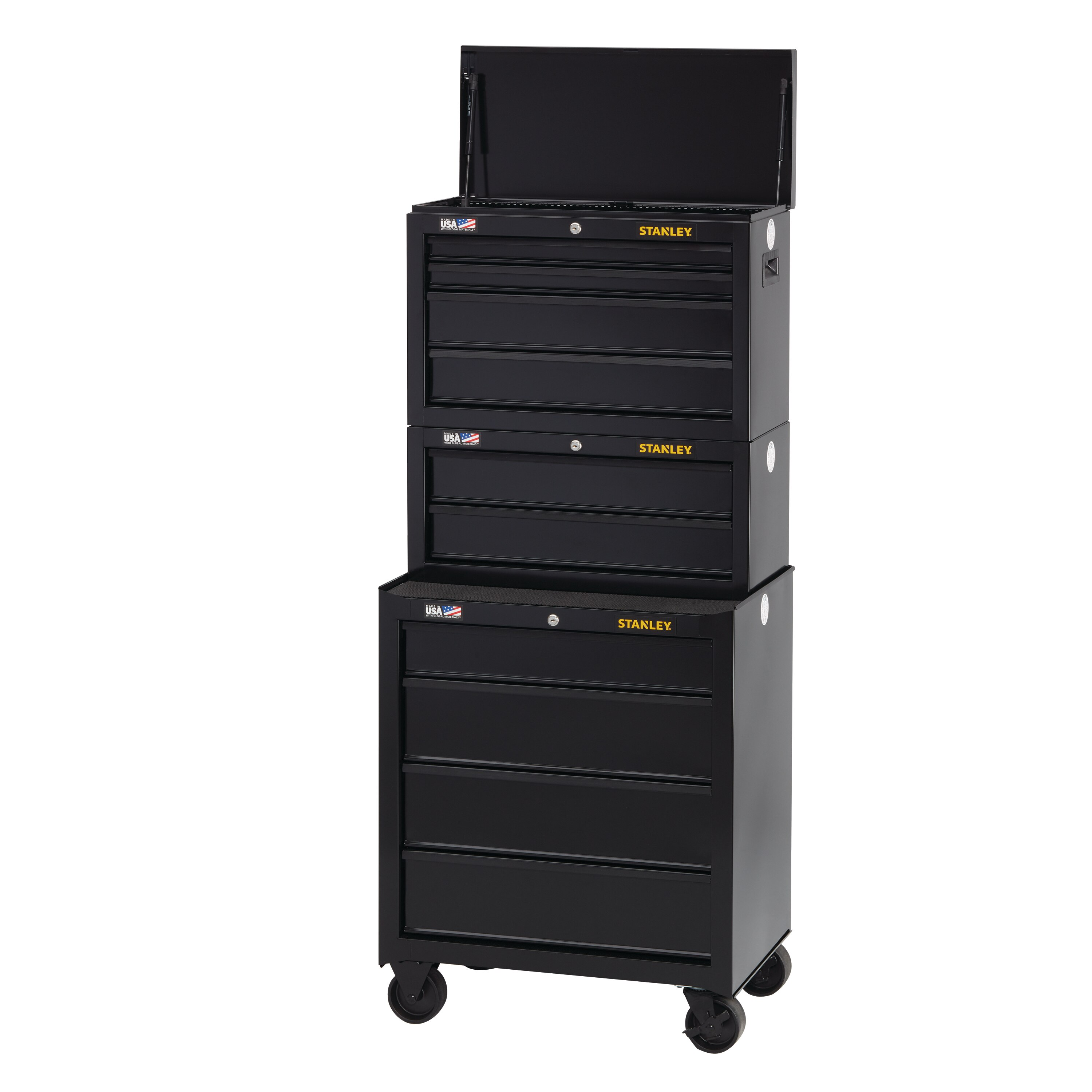 Stanley Tools - 100 Series 26 in W 4Drawer Tool Chest - STST22643BK