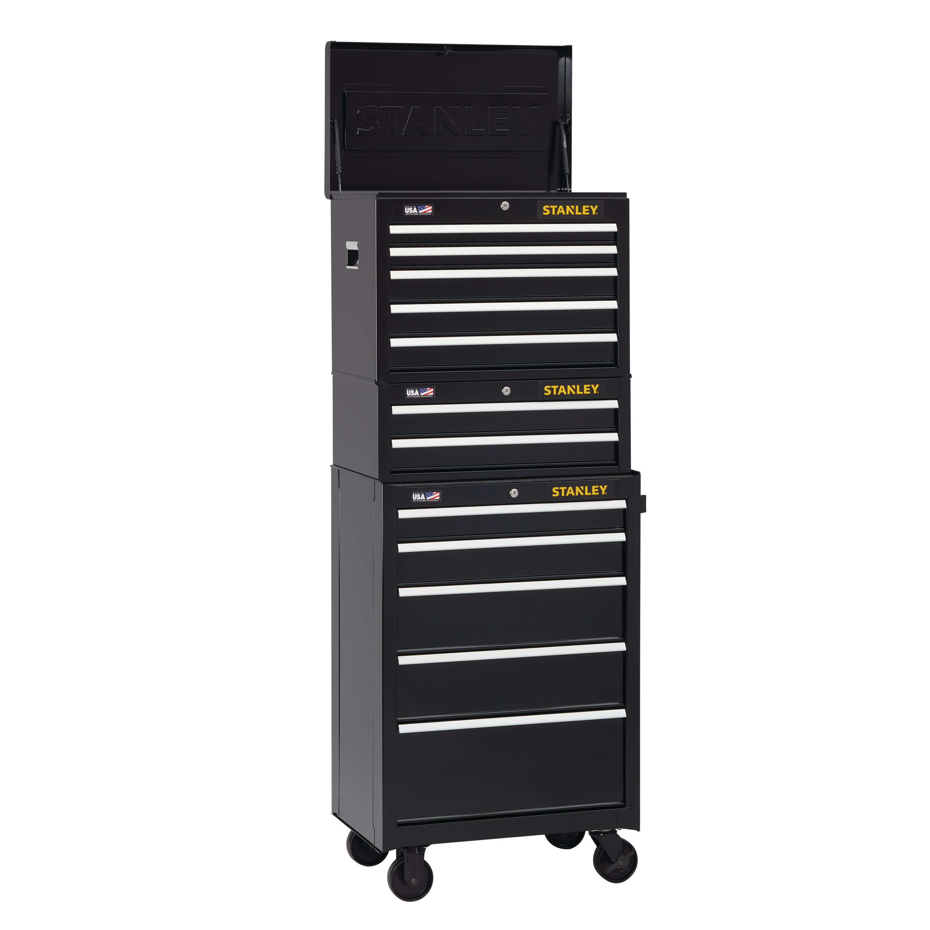 Stanley Tools - 300 Series 26 in W 5Drawer Tool Chest - STST22657BK