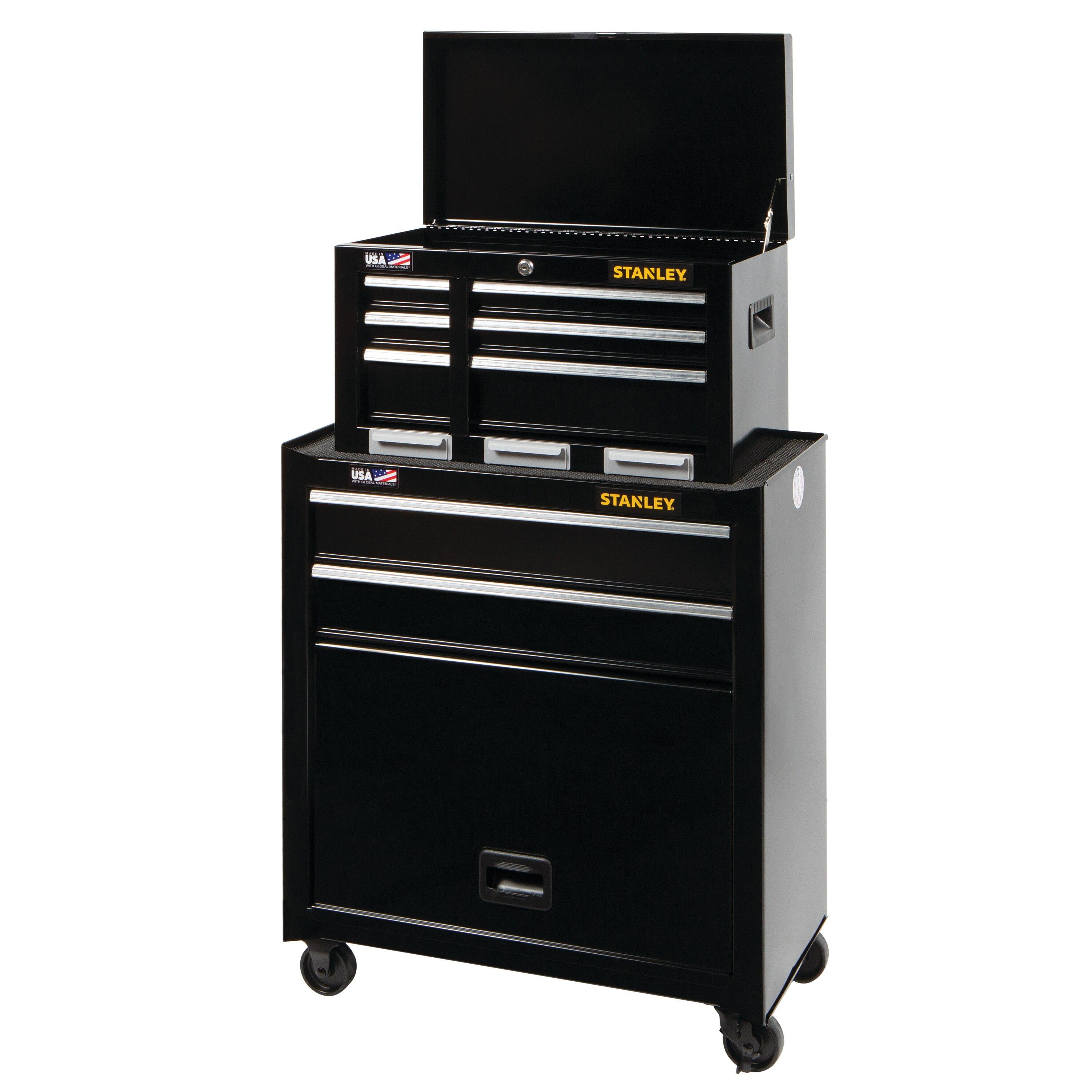 Stanley Tools - 26 in 5Drawer Tool Chest and Cabinet Combination - STST98178BK
