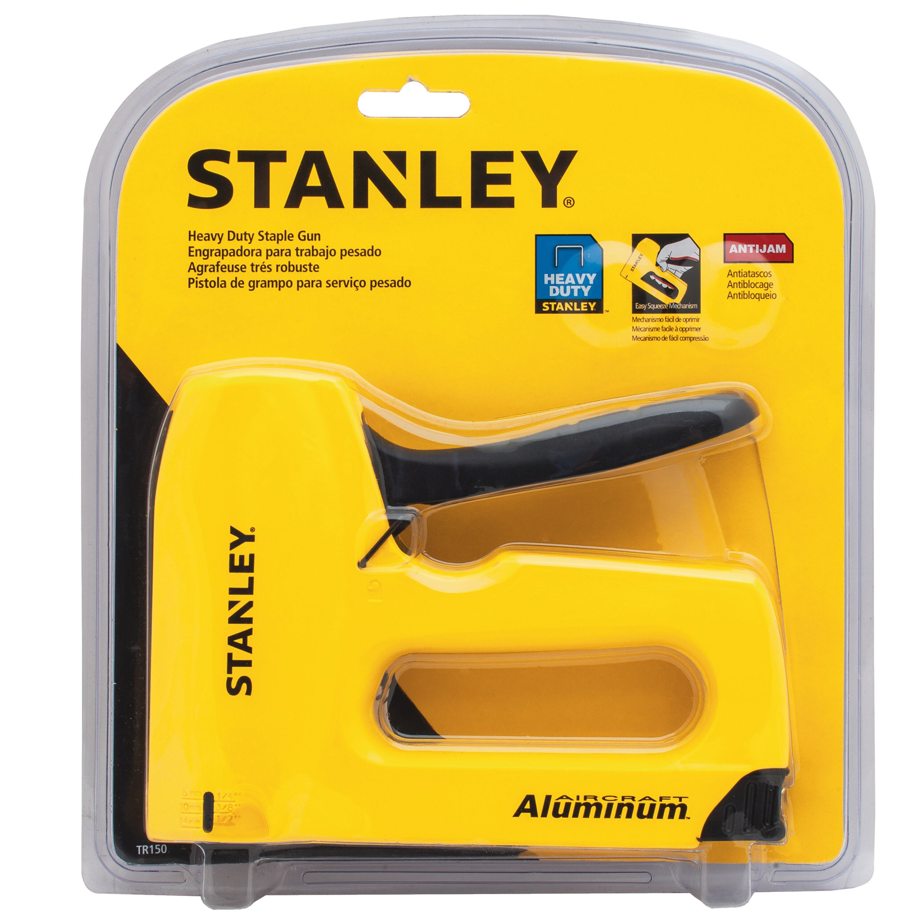Stanley Tools - SharpShooter Heavy Duty Staple Gun - TR150