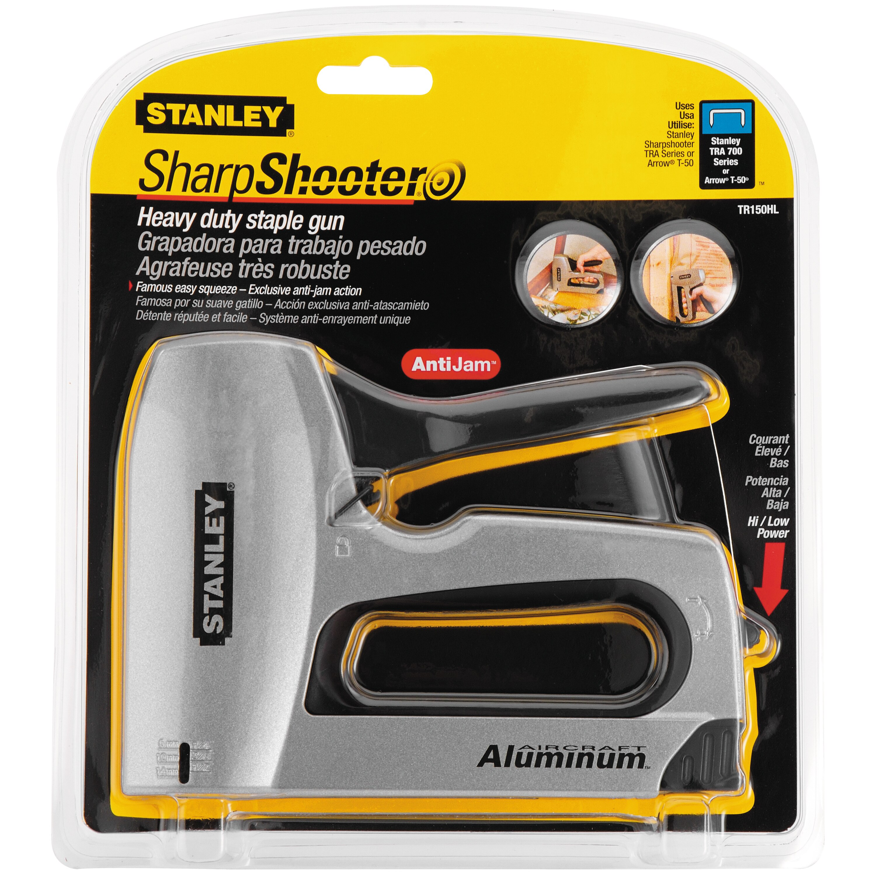 Stanley Tools - SharpShooter Heavy Duty Staple Gun - TR150HL